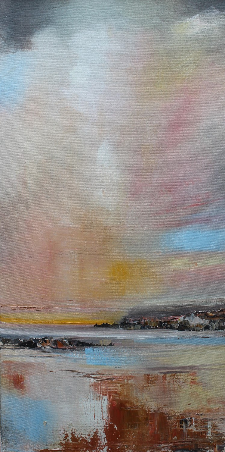 'Chalky Sky' by artist Rosanne Barr
