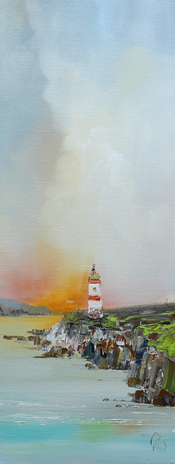 'Lighthouse Ahead' by artist Rosanne Barr