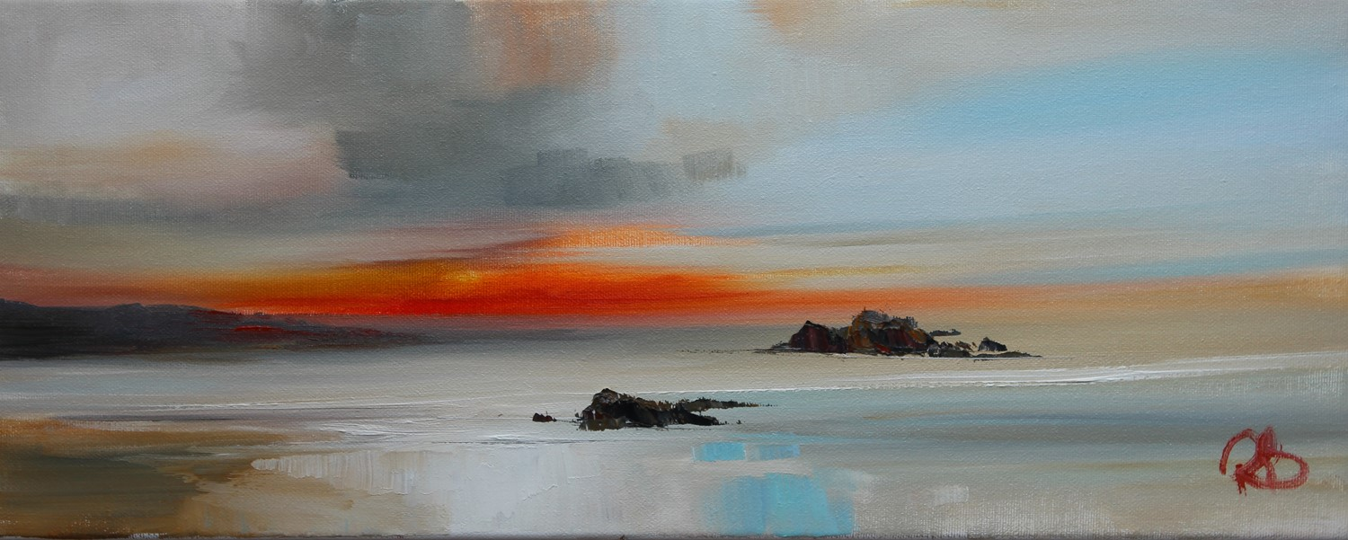 'The last Minutes of Sunset' by artist Rosanne Barr