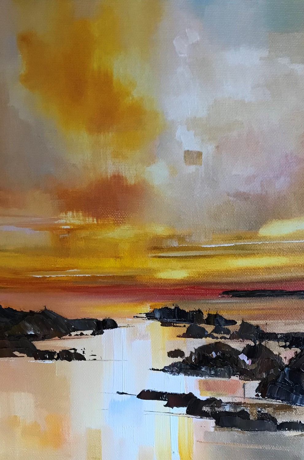 'Amospheric Light in the Sky' by artist Rosanne Barr
