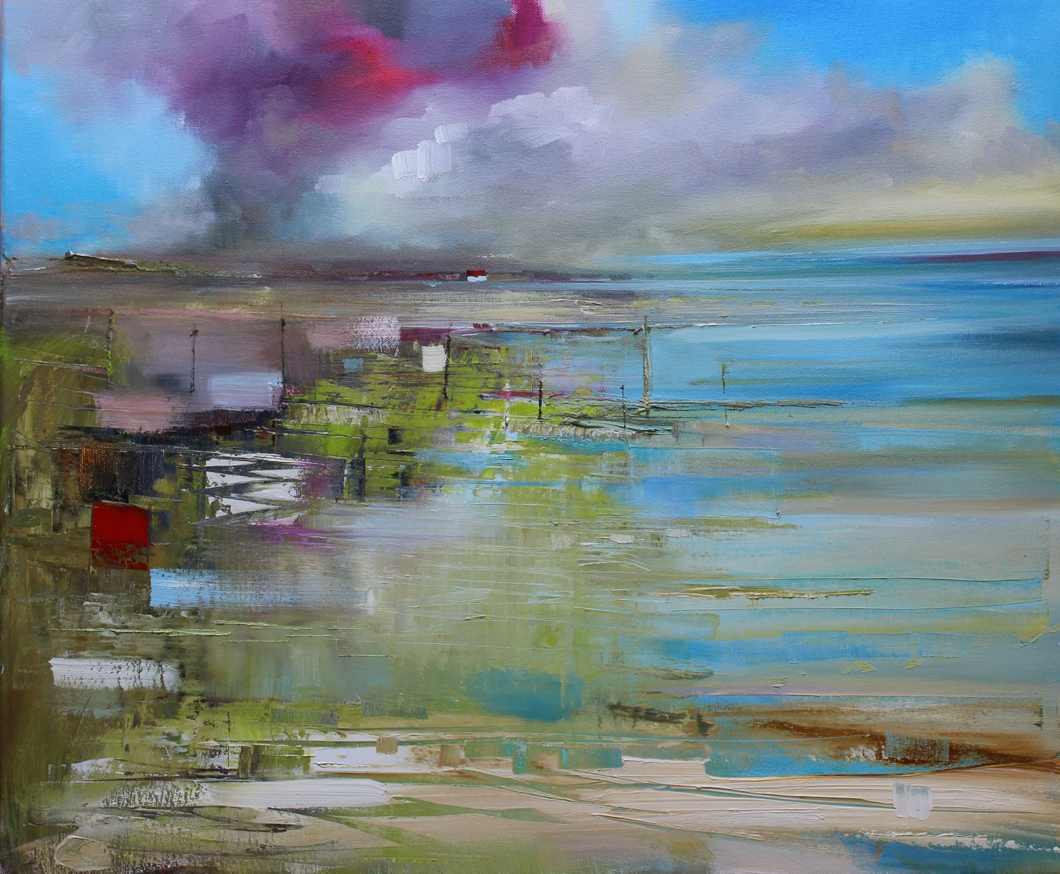 'An East Coast Neuk' by artist Rosanne Barr