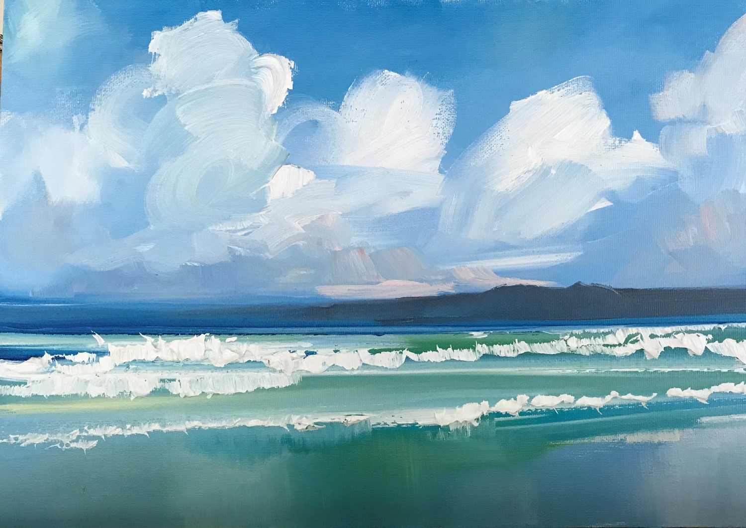 'Colours of the Sea' by artist Rosanne Barr