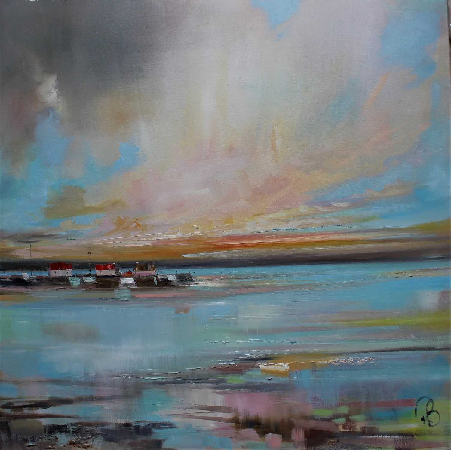 'Ever - Changing Sunset' by artist Rosanne Barr