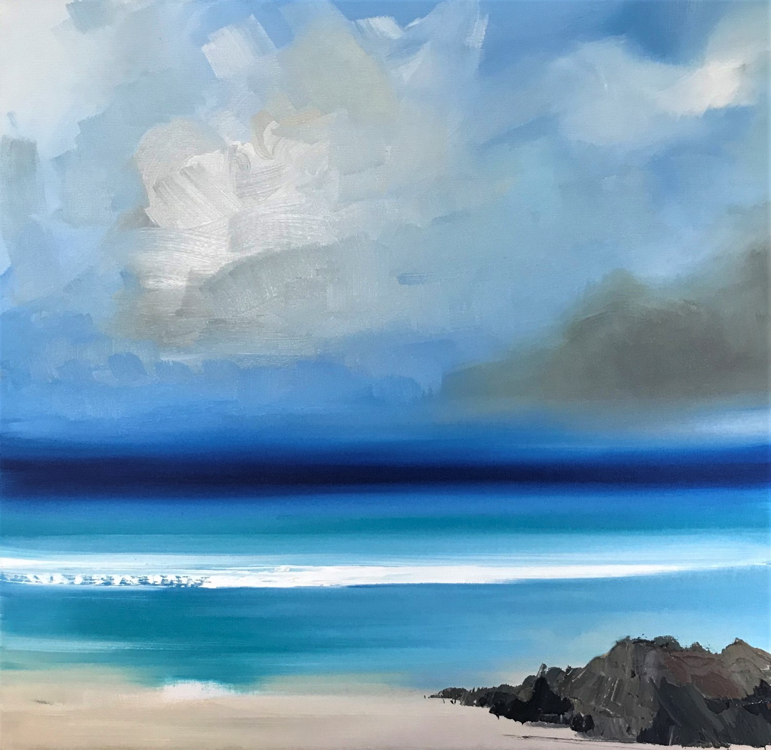 'Tropical Scotland' by artist Rosanne Barr