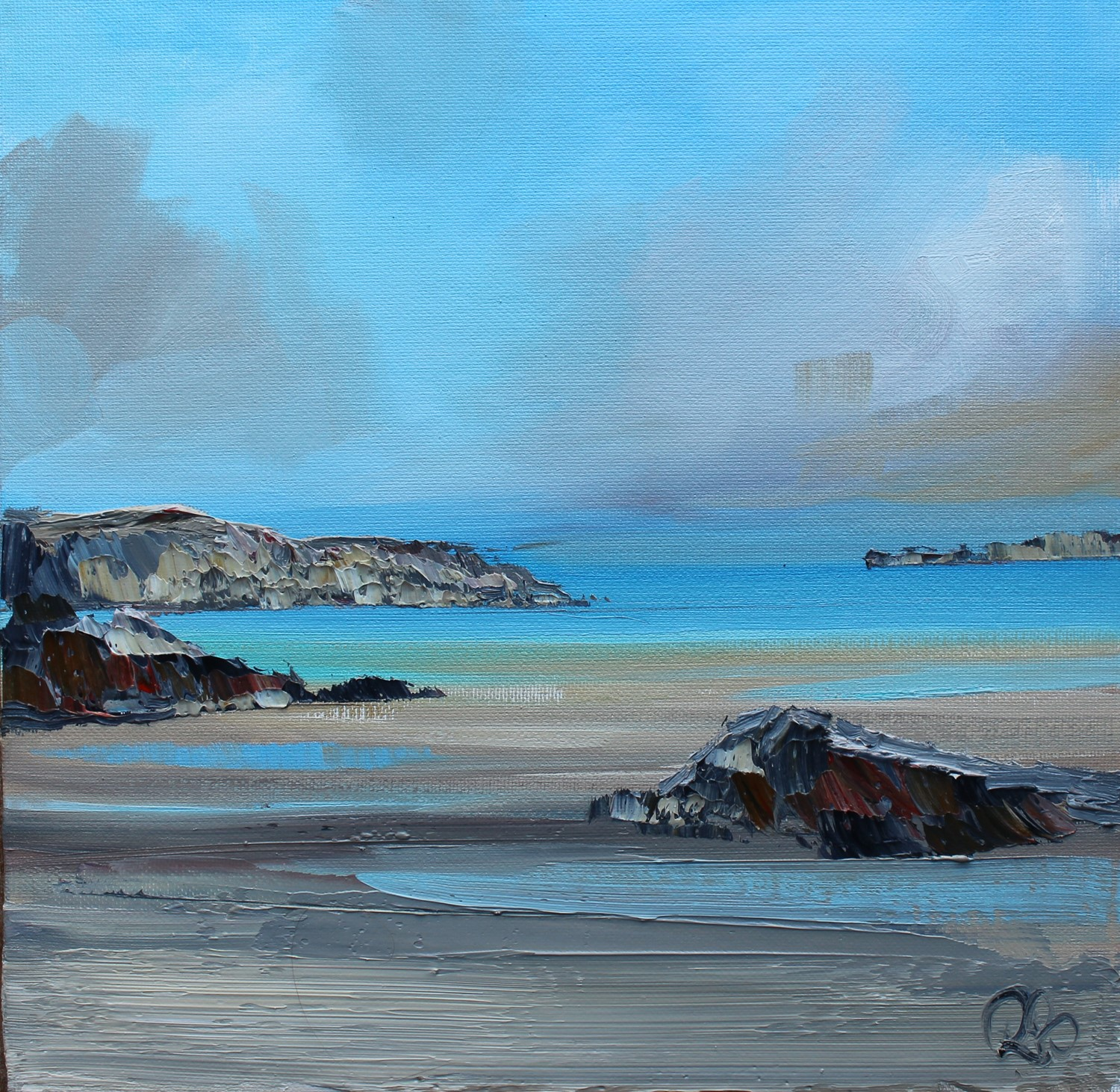 'Memories of Mull' by artist Rosanne Barr