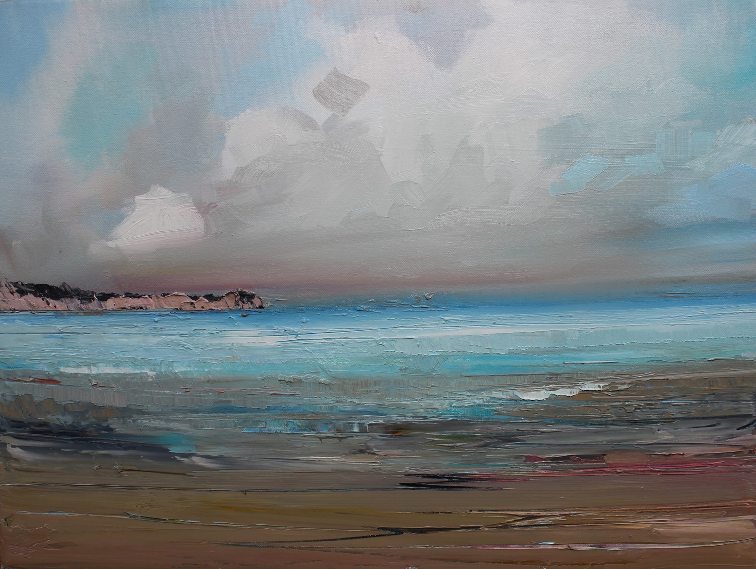 'On the Shores of the East Coast ' by artist Rosanne Barr