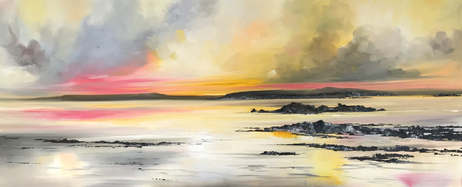 'From the Shores to the Isles ' by artist Rosanne Barr