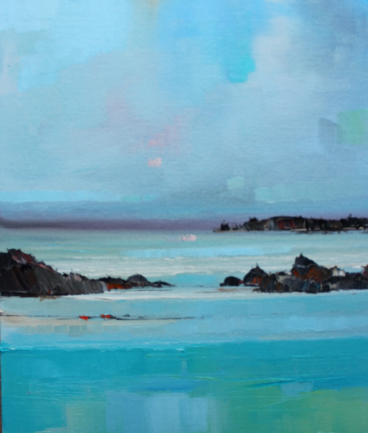 'On Wet Sands' by artist Rosanne Barr
