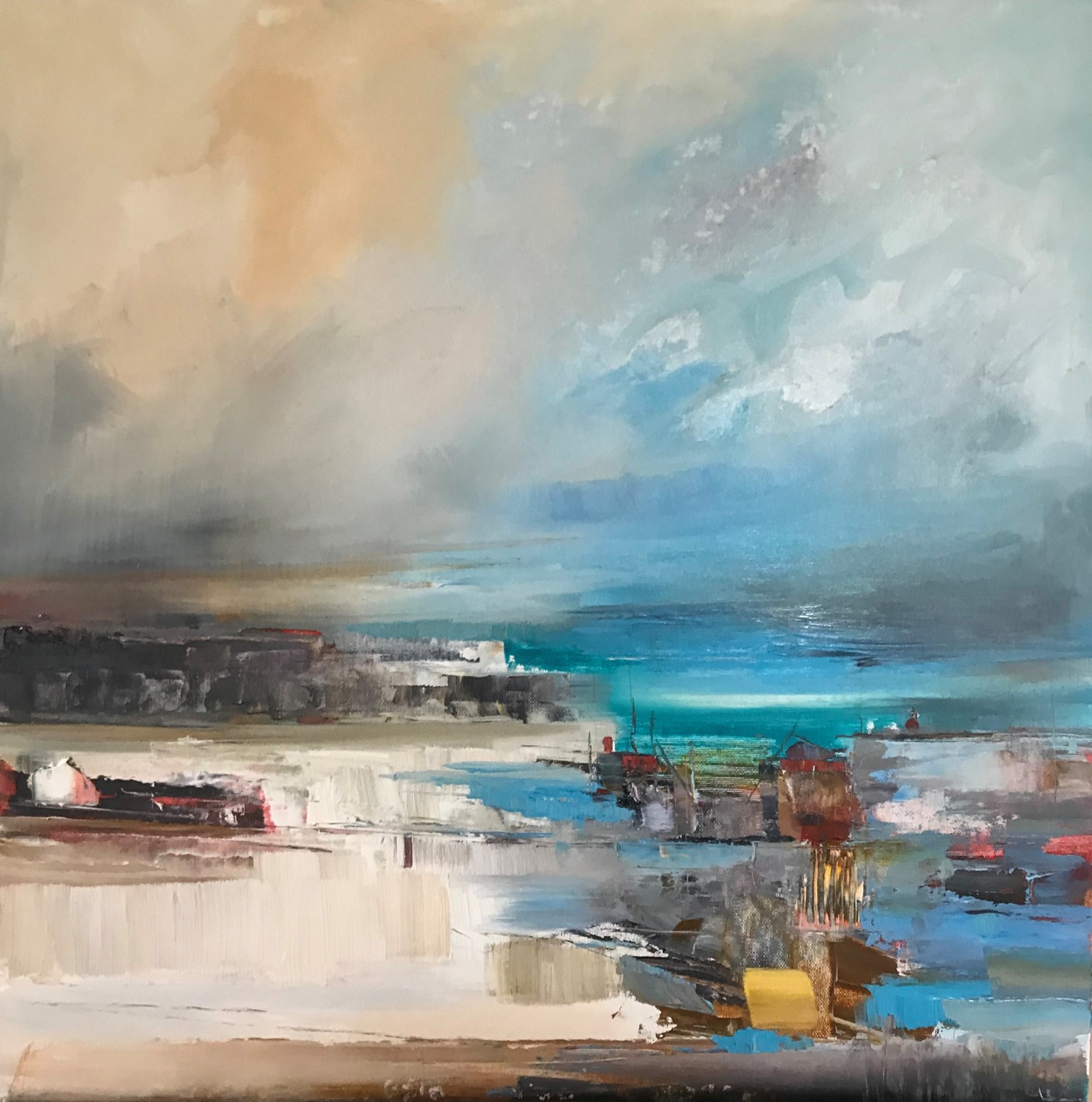 'To Port' by artist Rosanne Barr