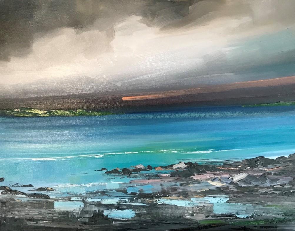 'Tide Ebbing in' by artist Rosanne Barr