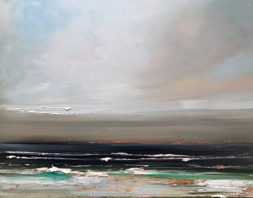 'Moody Seas' by artist Rosanne Barr