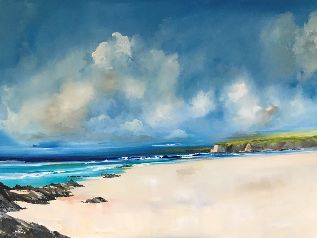 'Summer Skies Out West' by artist Rosanne Barr