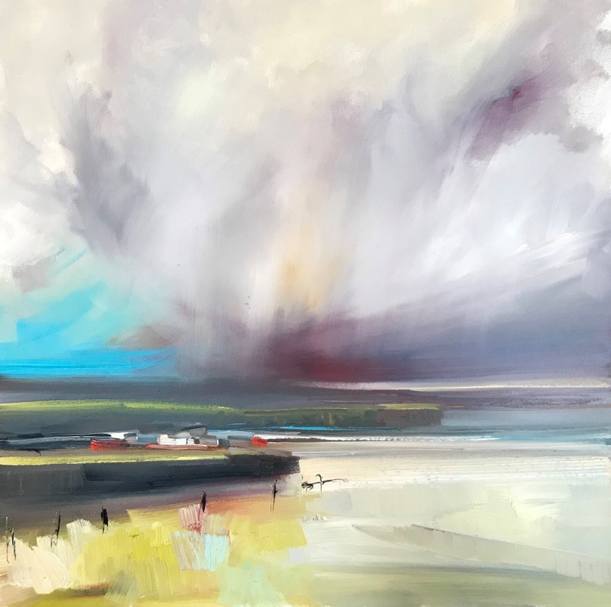 'In a squall' by artist Rosanne Barr