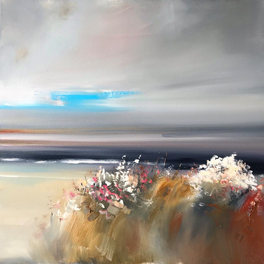 'A Hint of blue on a grey sky day' by artist Rosanne Barr