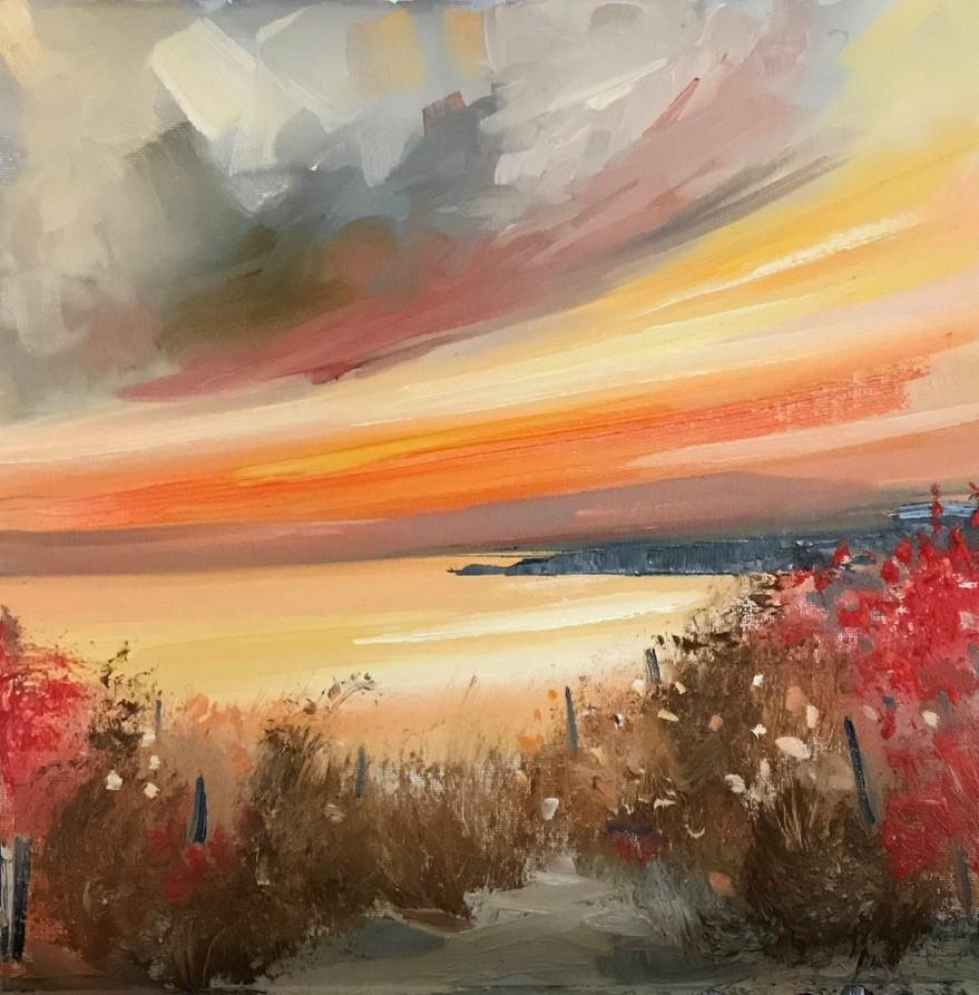 'A Sandy Pathway' by artist Rosanne Barr