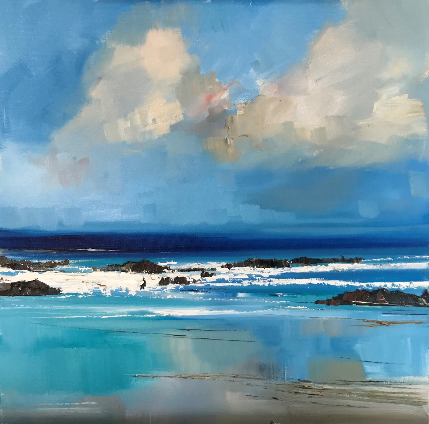 'The tide turns' by artist Rosanne Barr