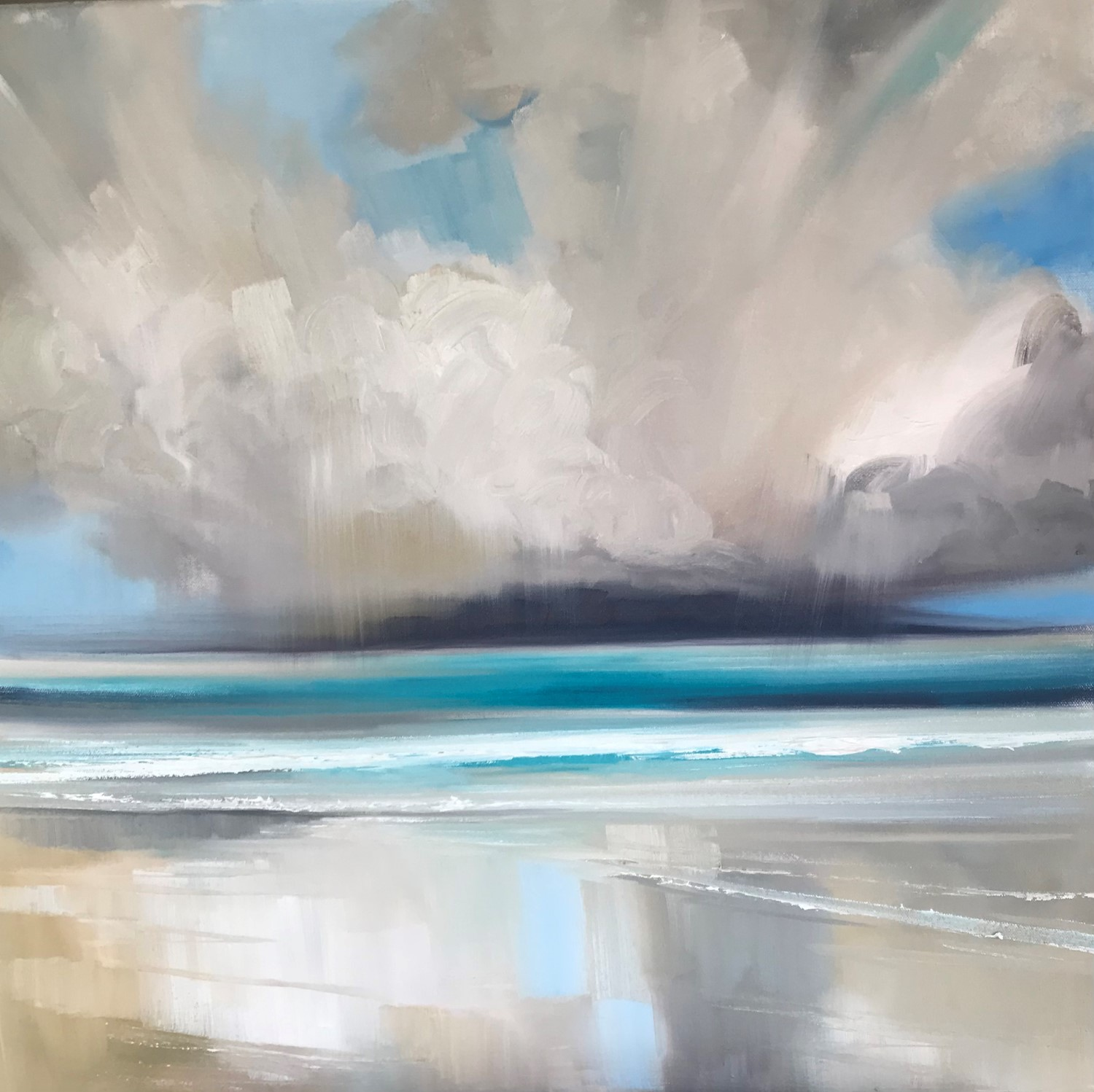 'In love with Arisaig' by artist Rosanne Barr