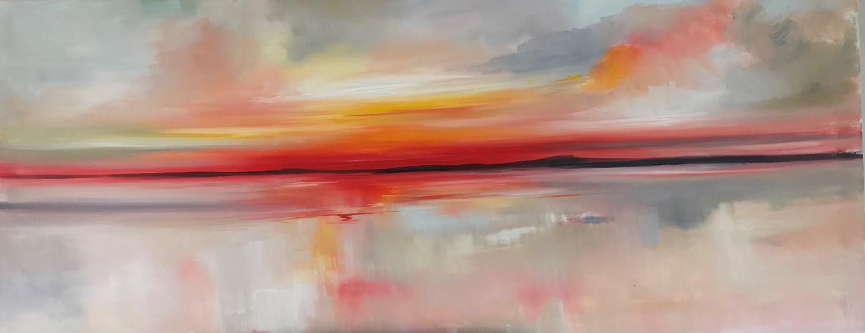 'Stunning sundown' by artist Rosanne Barr