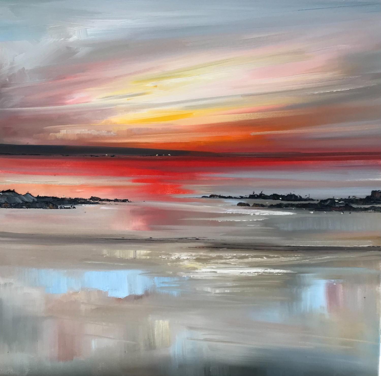 'Distant lights ' by artist Rosanne Barr