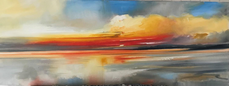 'Summers sundown' by artist Rosanne Barr