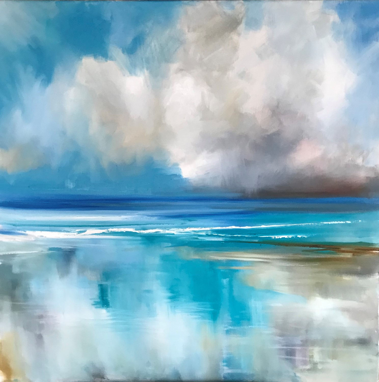 'Coastal Calm ' by artist Rosanne Barr