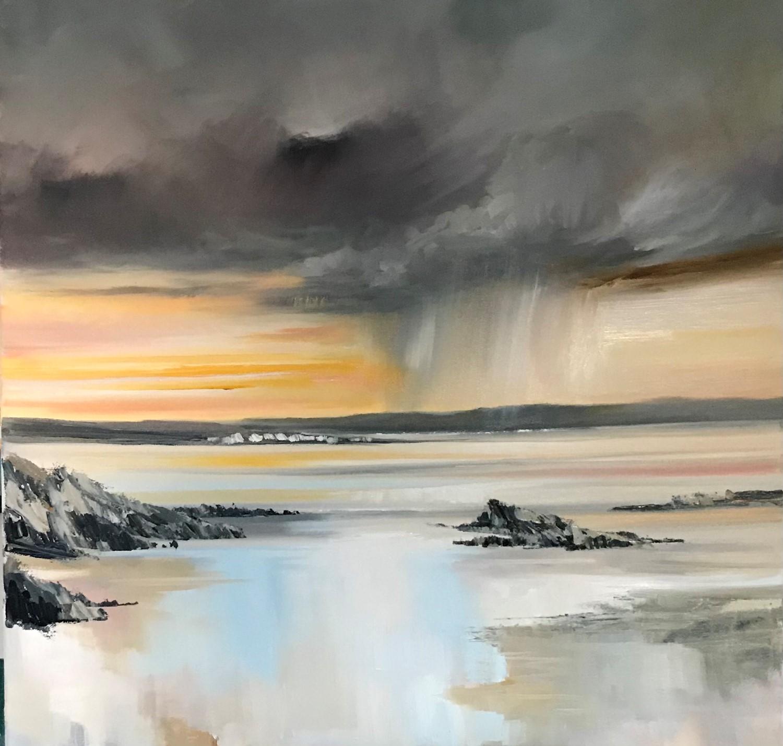 'A clap of thunder ' by artist Rosanne Barr