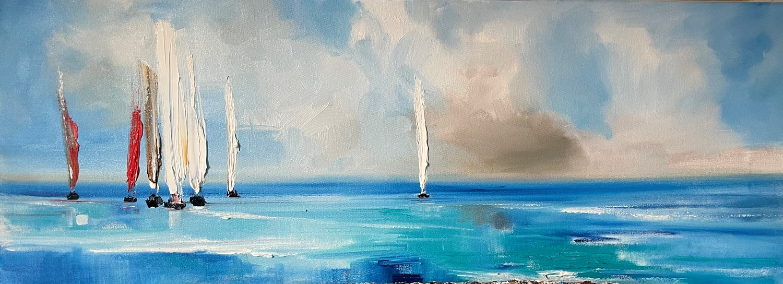 'Sails Across the Sea' by artist Rosanne Barr