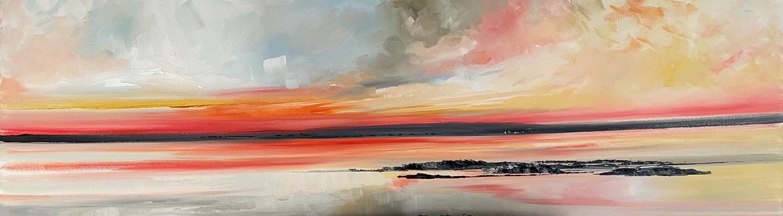 'Summer sundown out west ' by artist Rosanne Barr