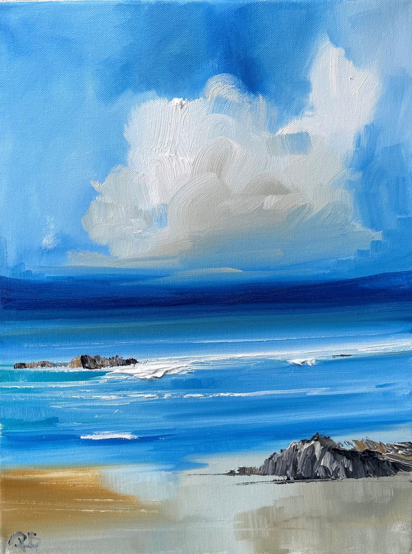 'Hidden beach ' by artist Rosanne Barr