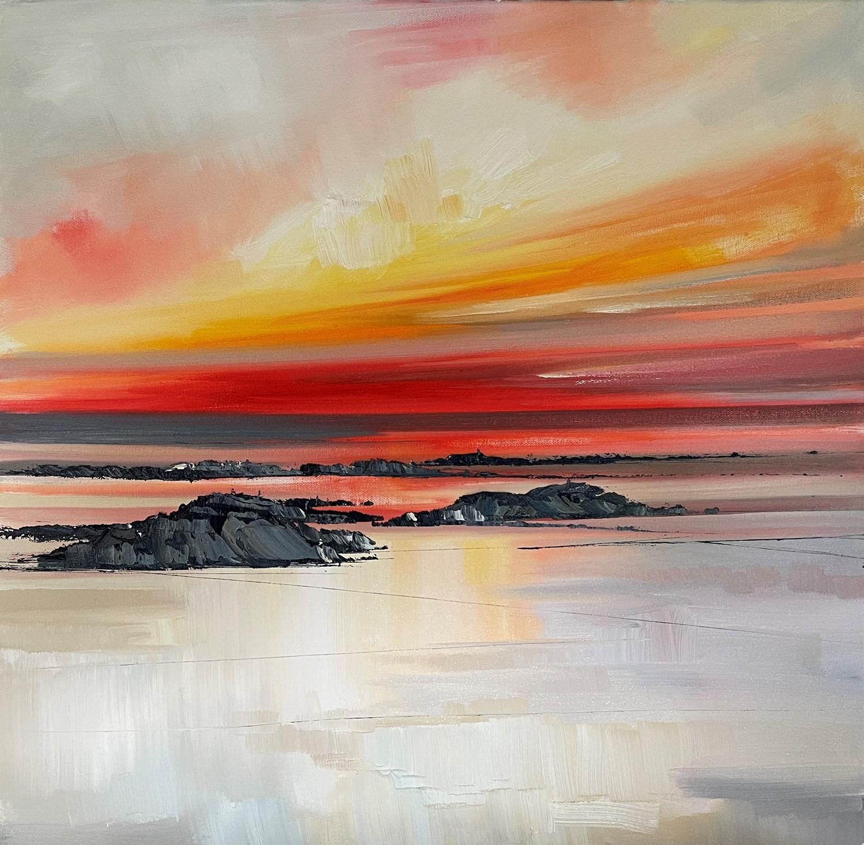 'When the sun goes down ' by artist Rosanne Barr