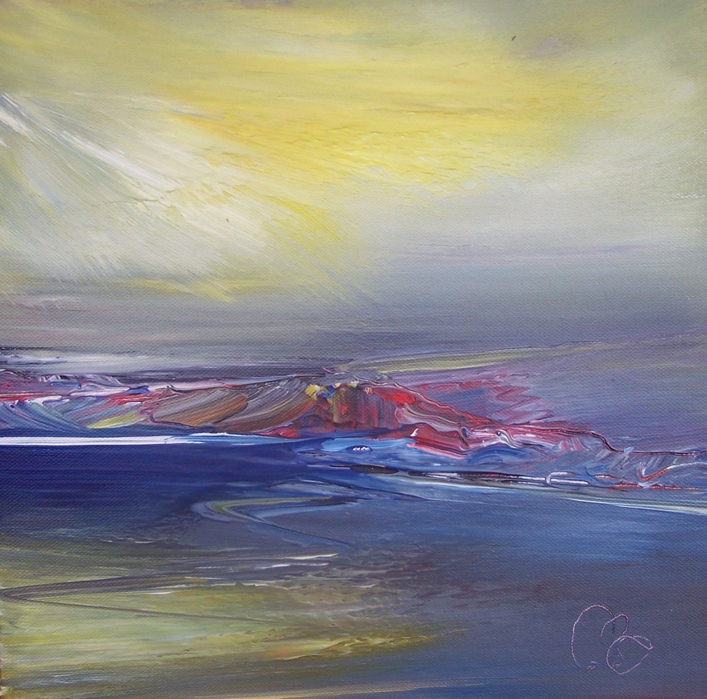 'across the firth' by artist Rosanne Barr