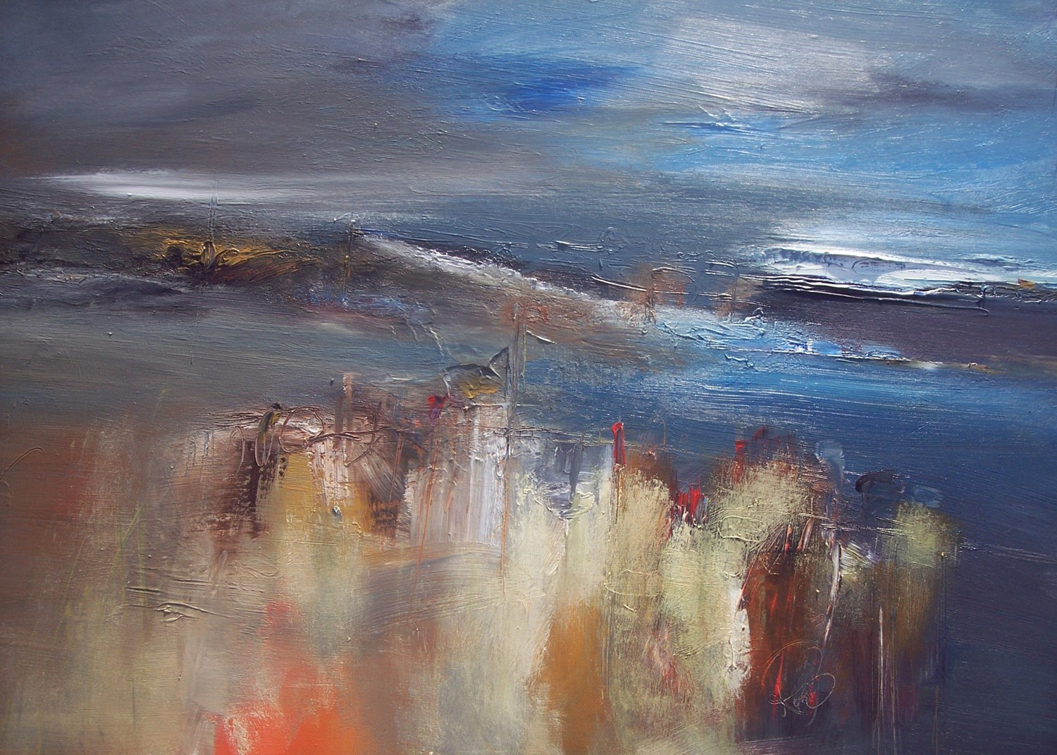 'Autumn Blue' by artist Rosanne Barr