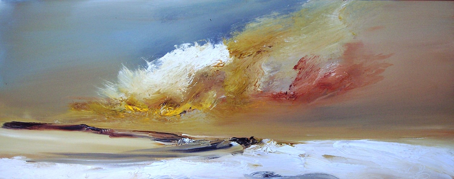 'Days end' by artist Rosanne Barr