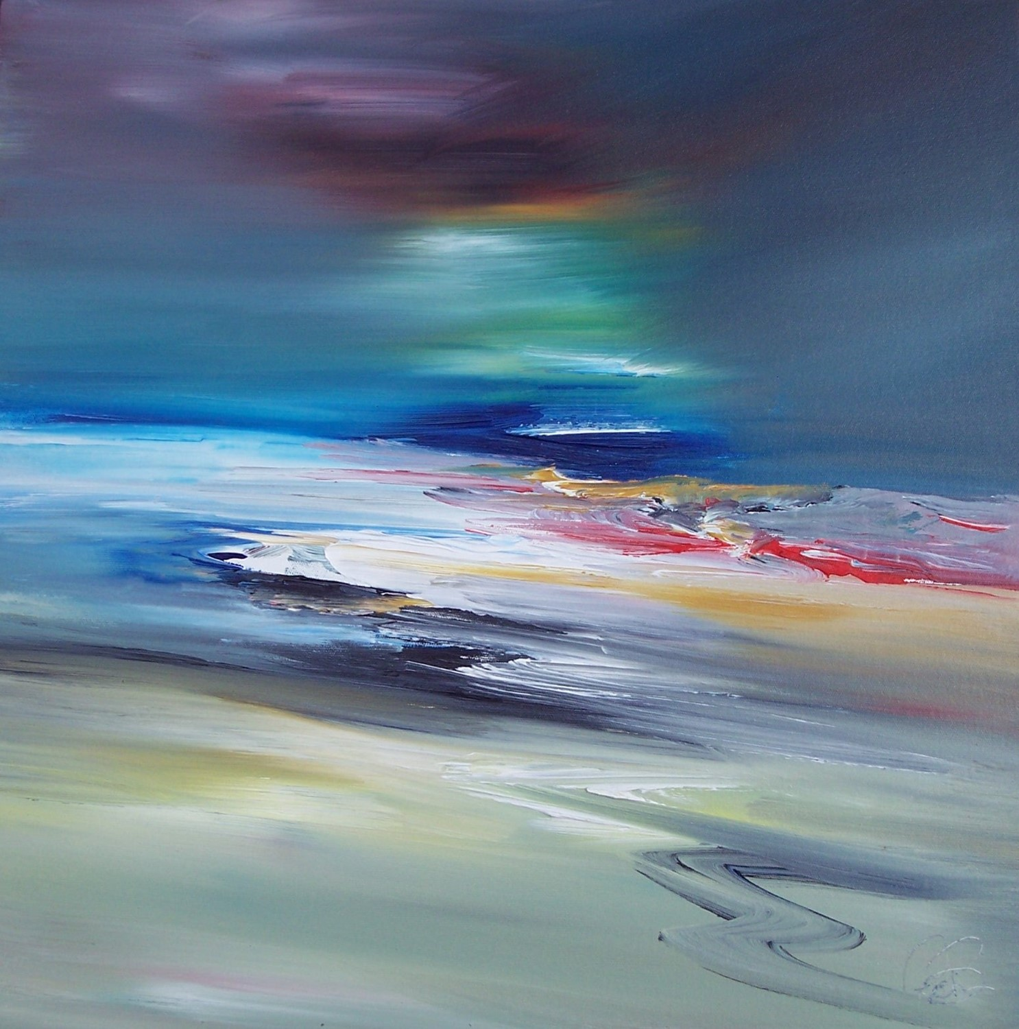 'Ebb and Flow' by artist Rosanne Barr