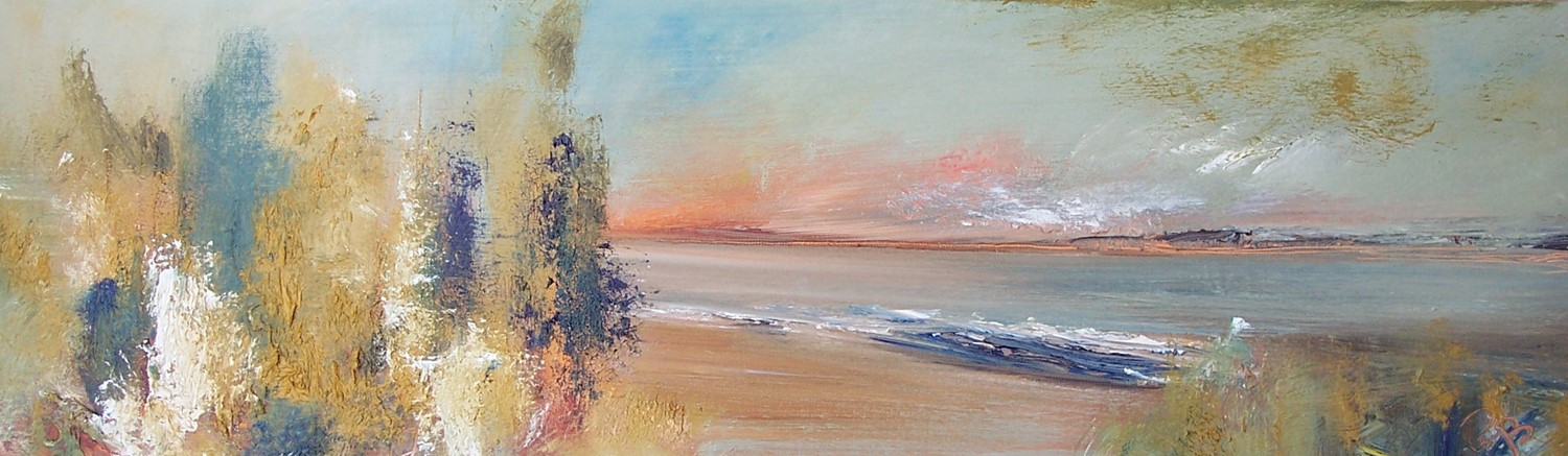 'forest by the firth' by artist Rosanne Barr