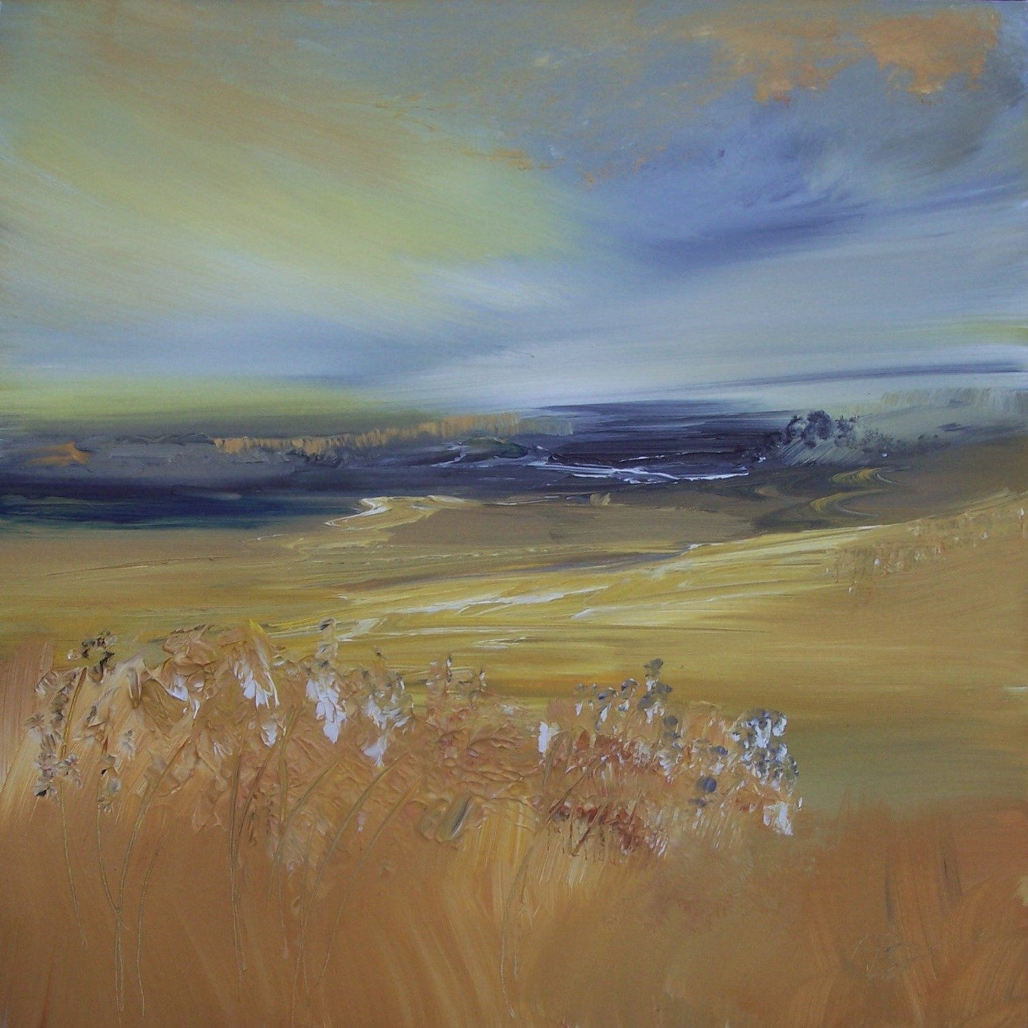 'Golden Machair' by artist Rosanne Barr