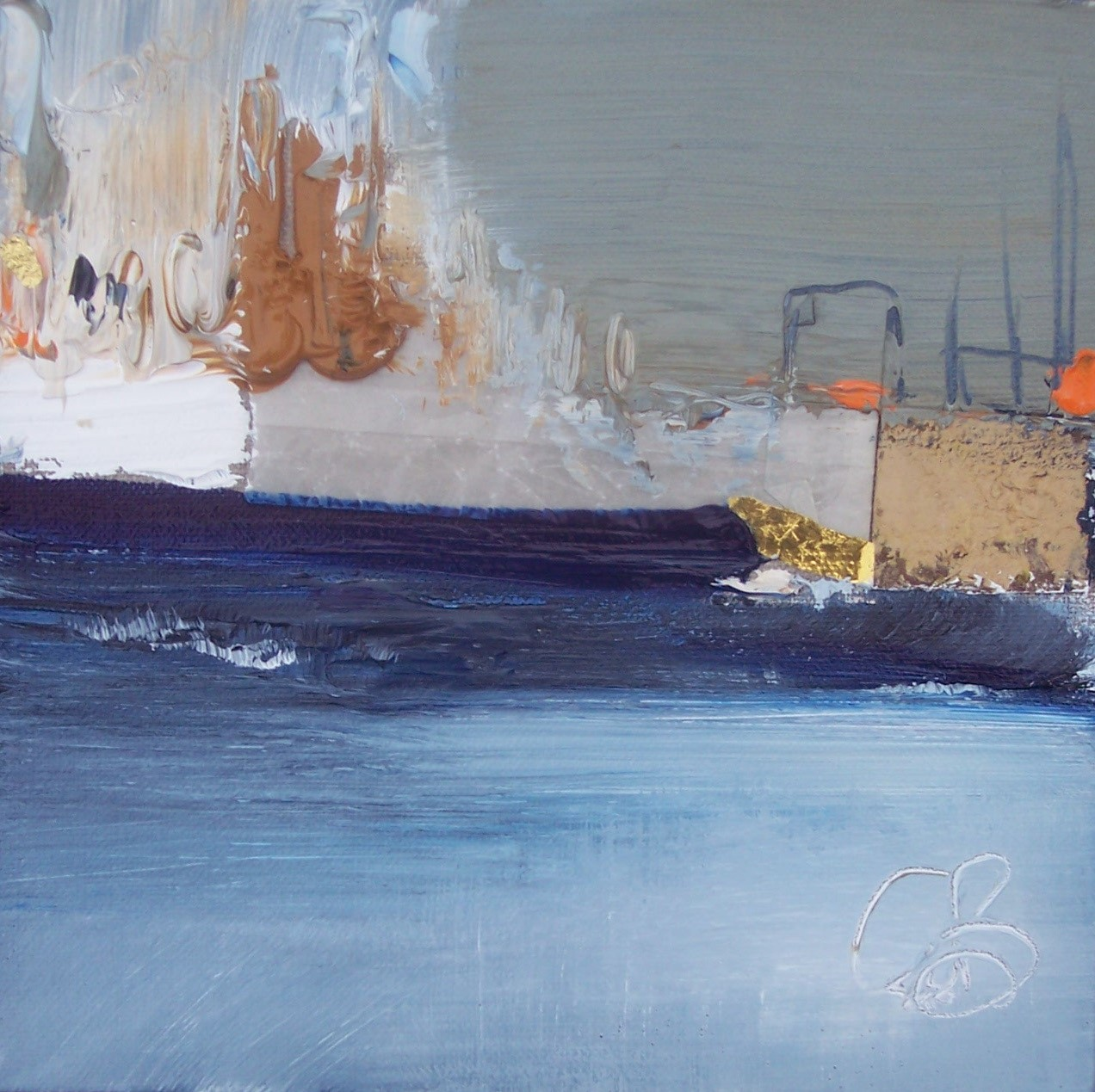 'Harbour City ' by artist Rosanne Barr
