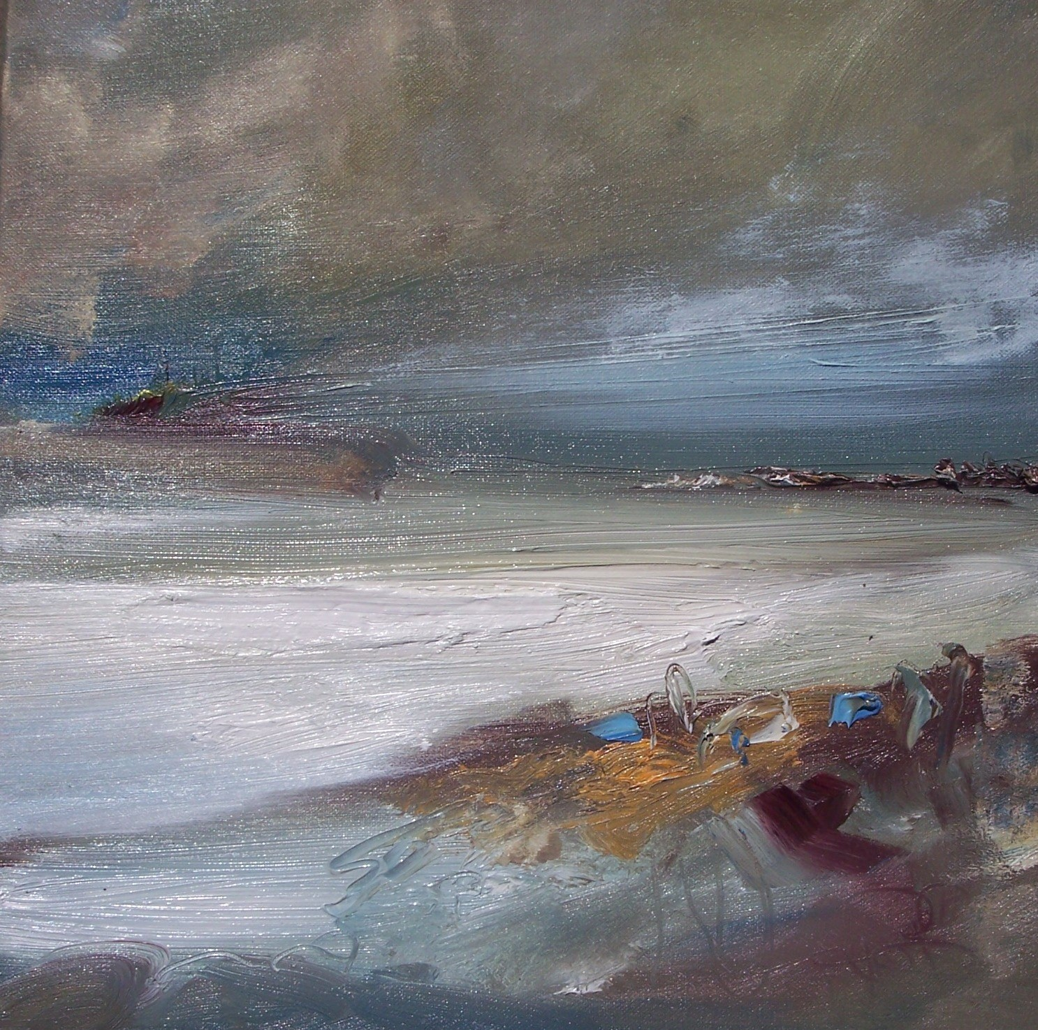 'In the midst of a storm' by artist Rosanne Barr