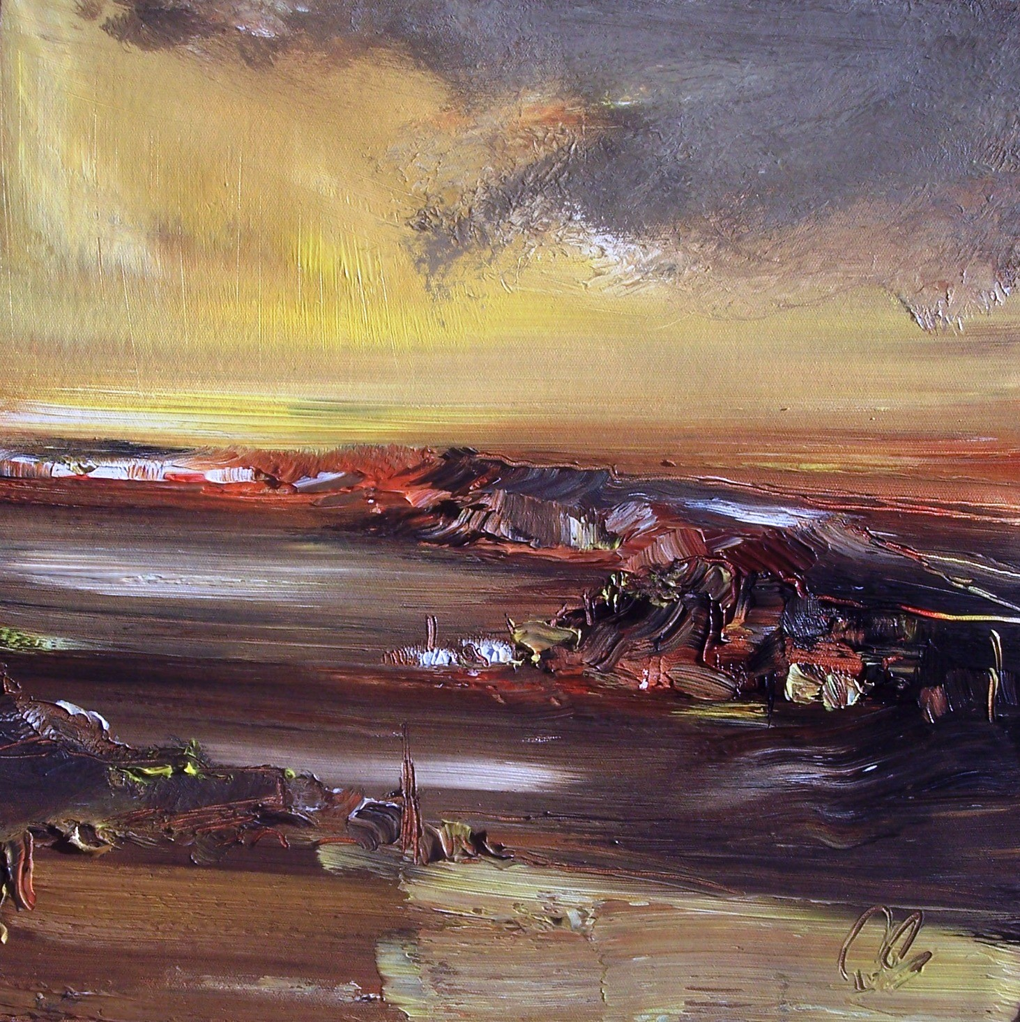 'Lasting Light Acrylic' by artist Rosanne Barr