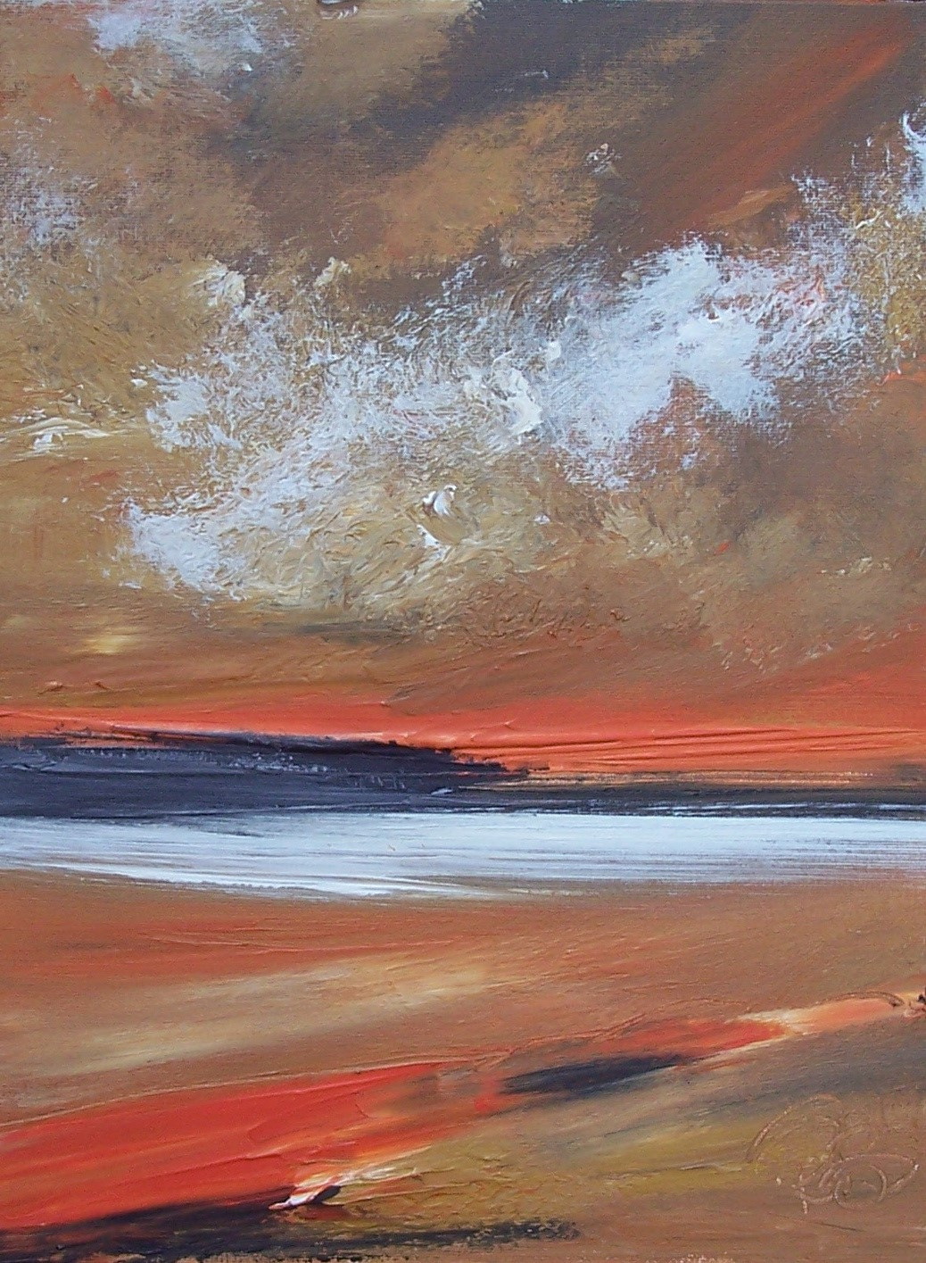 'Night beckoning' by artist Rosanne Barr