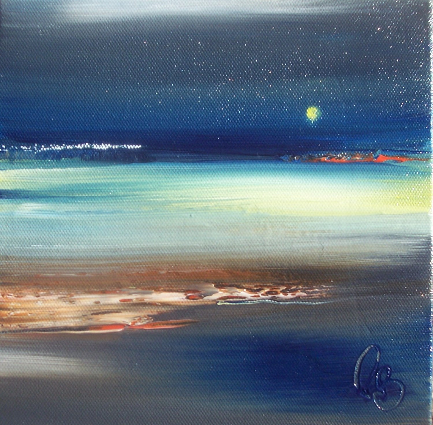'NIGHT WALK' by artist Rosanne Barr