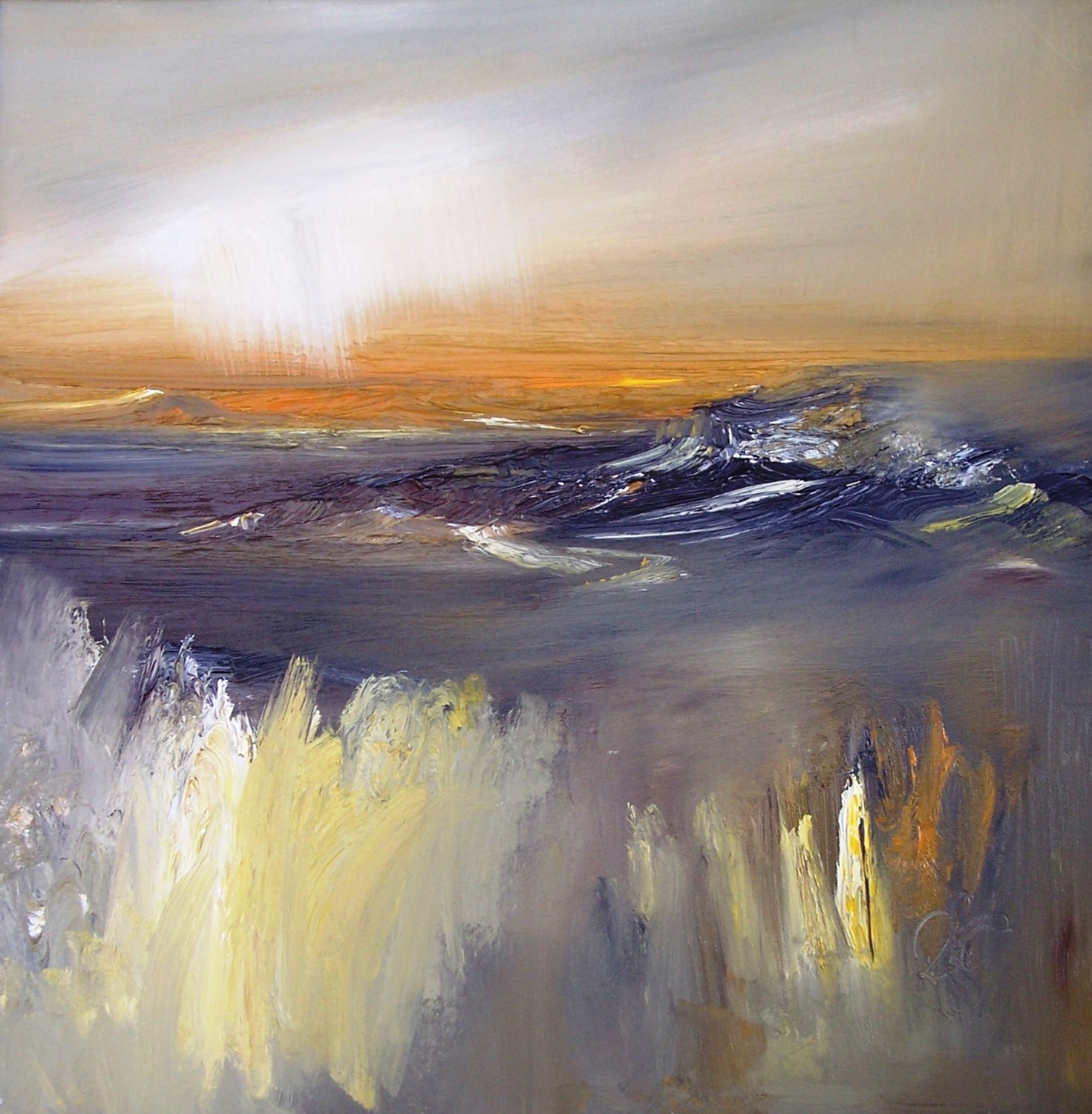 'Northern Cliffs' by artist Rosanne Barr