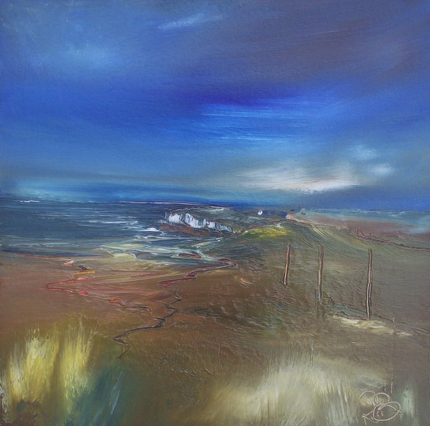 'Northern Headland' by artist Rosanne Barr