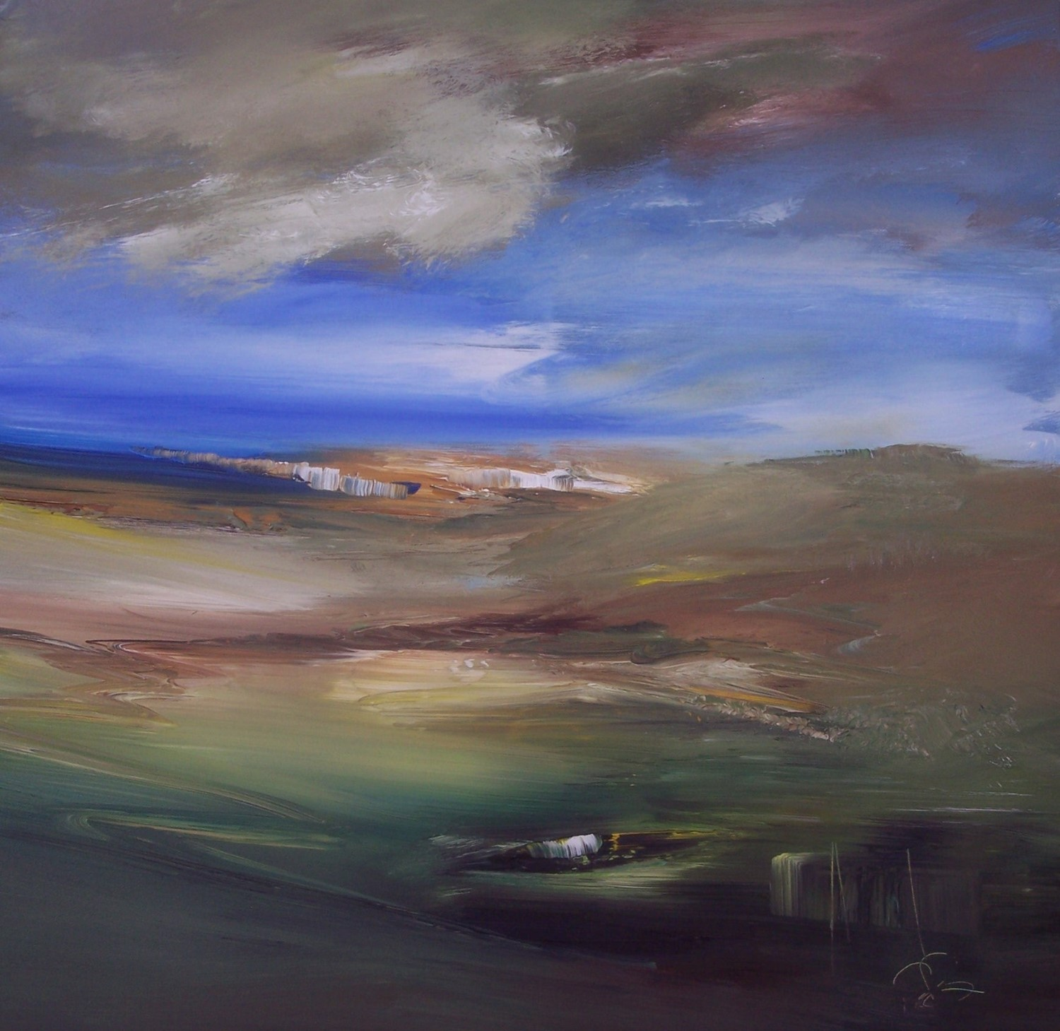 'Orkney scappa' by artist Rosanne Barr