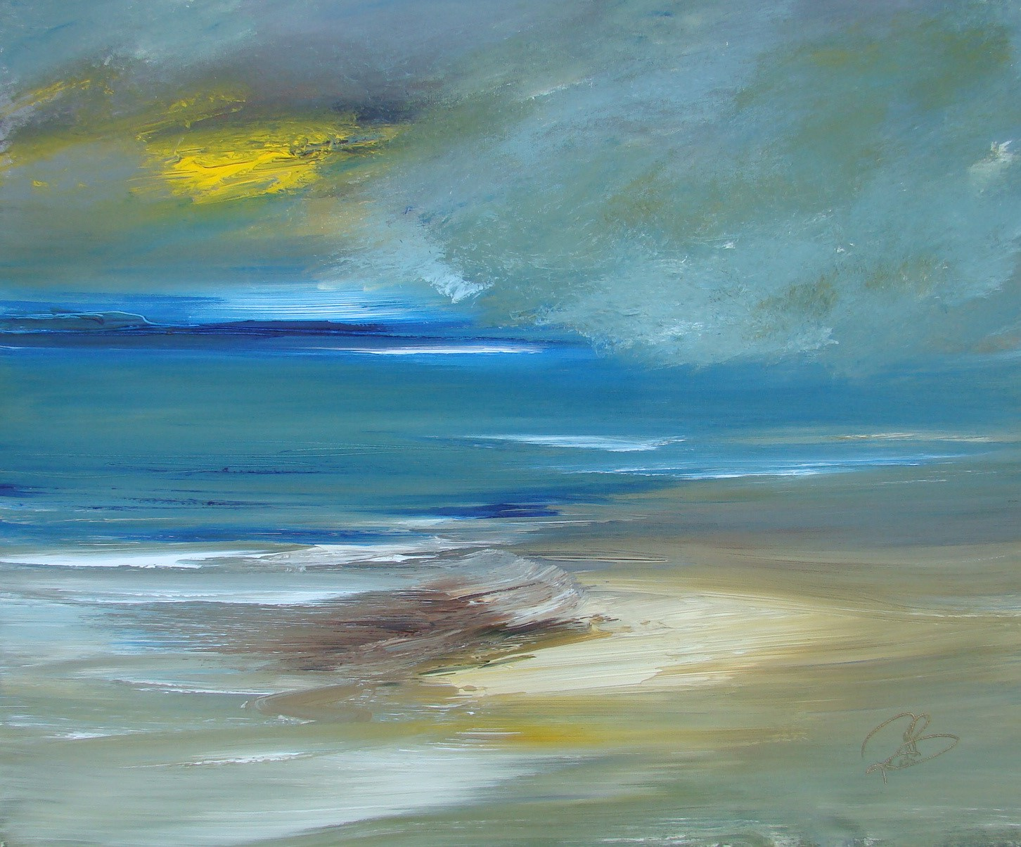 'sudden clouds' by artist Rosanne Barr