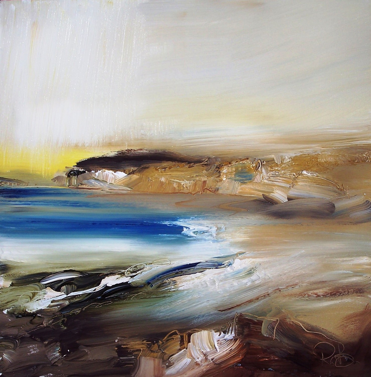 'tangled shores' by artist Rosanne Barr