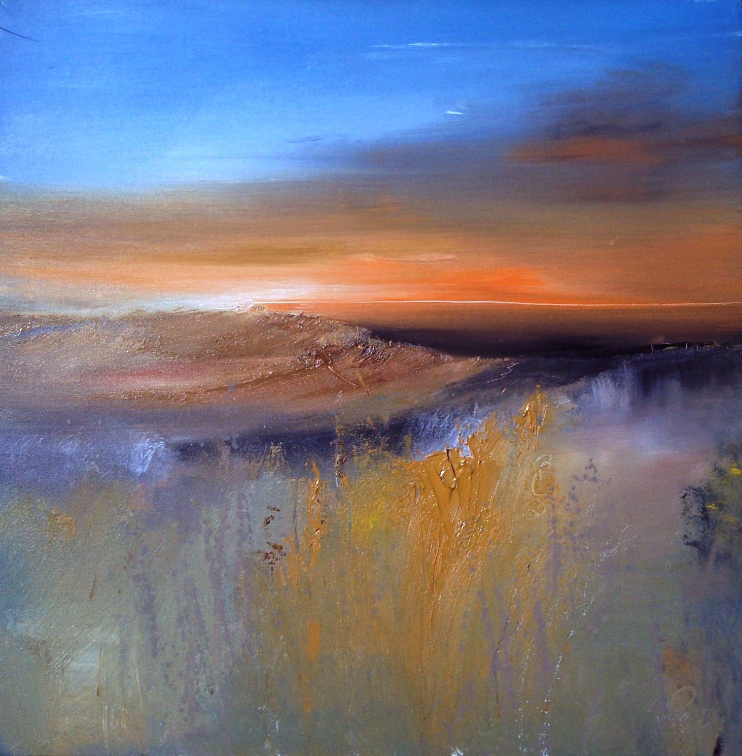 'The After Glow ' by artist Rosanne Barr