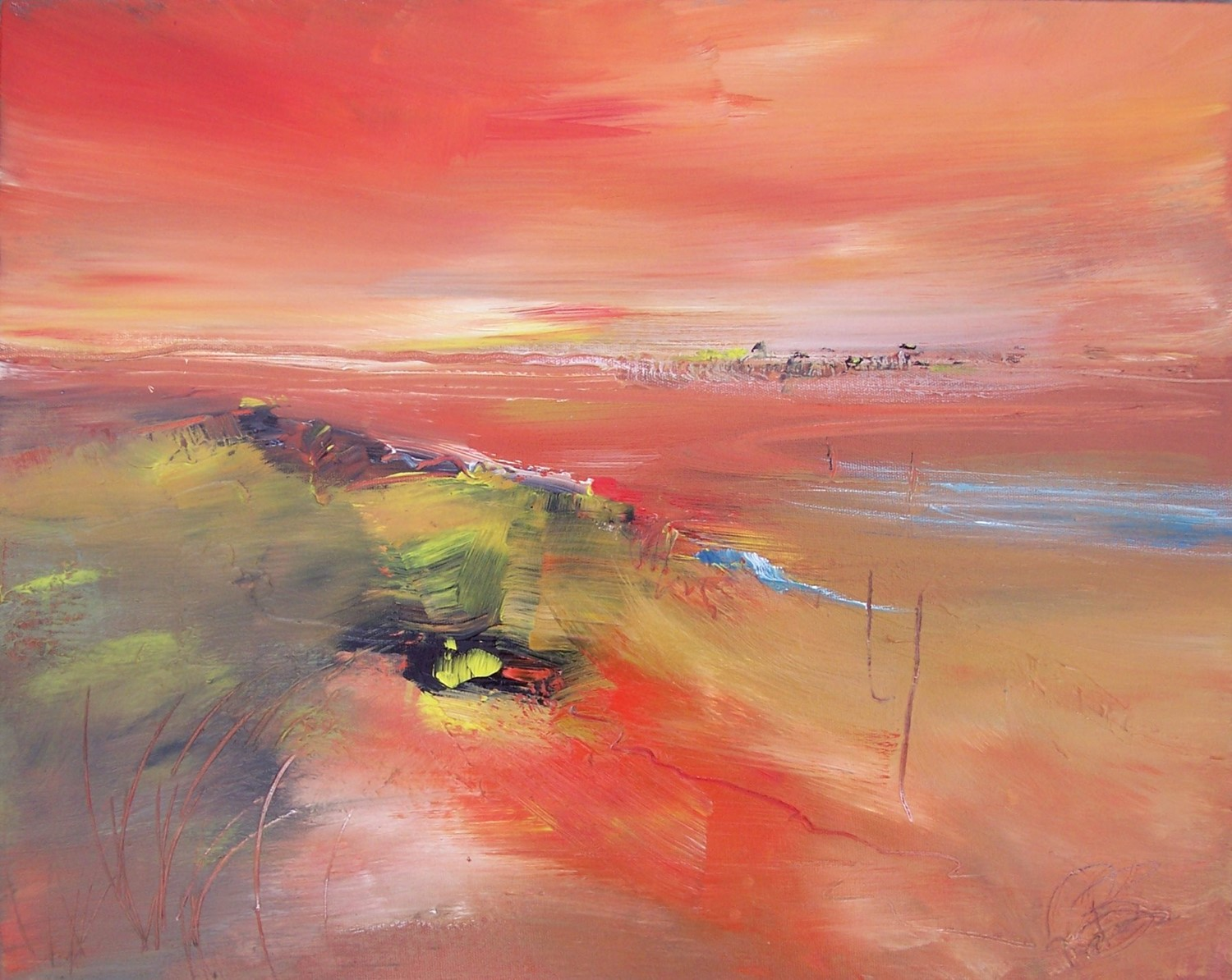 'Warm Evening' by artist Rosanne Barr