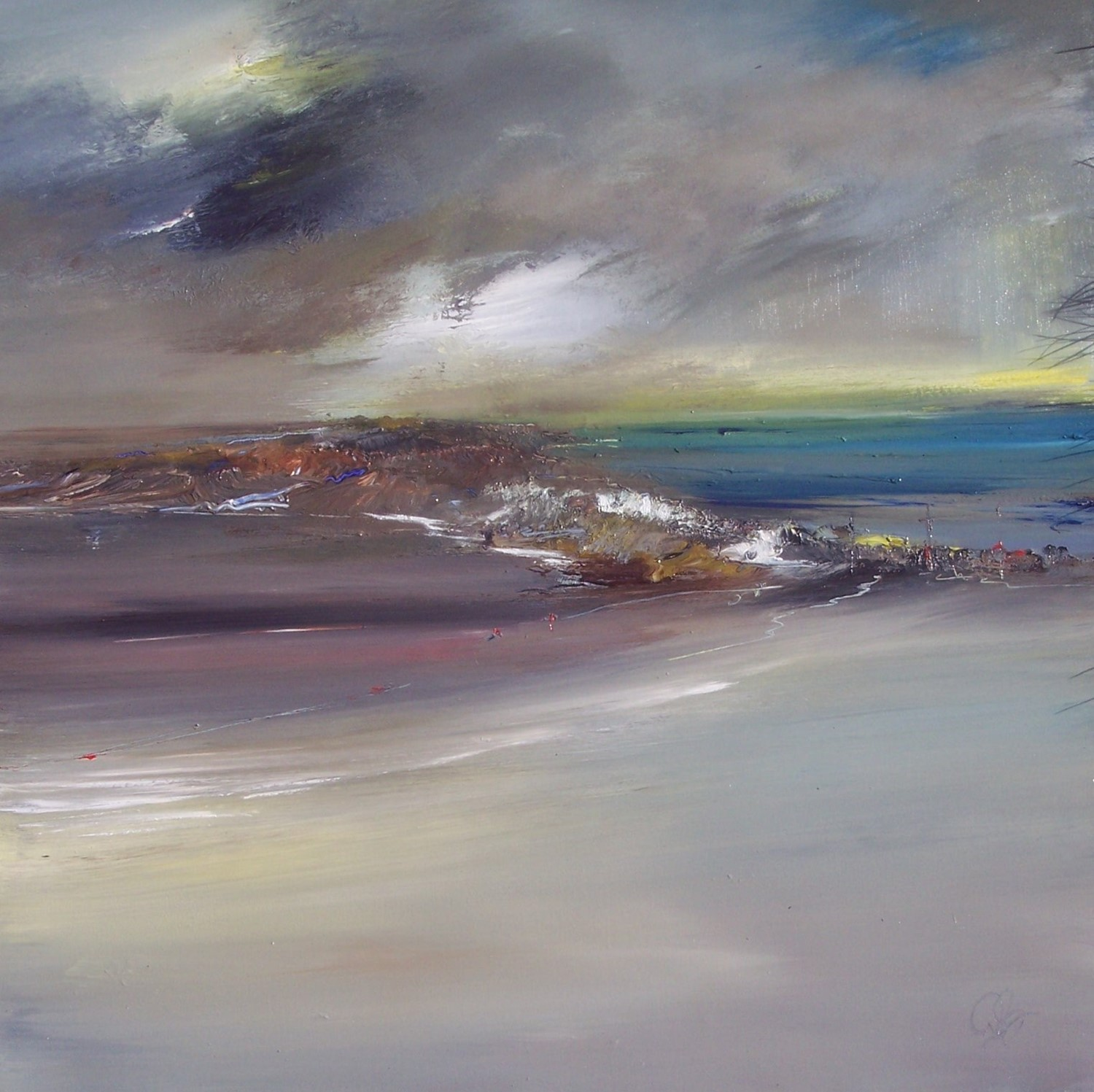 'WEST WEATHER' by artist Rosanne Barr
