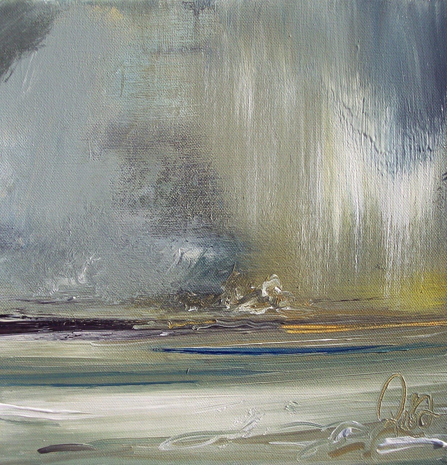 'Capturing Rain' by artist Rosanne Barr